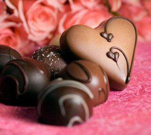 Love is like chocolate...