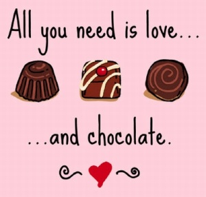 Chocolate is love